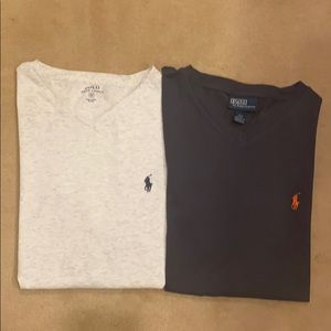 Polo men's V-neck's bundle